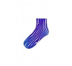 Dámske fialové ponožky Happy Socks Mia // kolekcia Hysteria