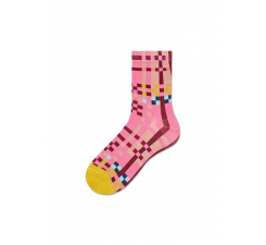 Dámske ružové ponožky Happy Socks Polly // kolekcia Hysteria