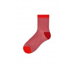 Dámske červené ponožky Happy Socks Rita // kolekcia Hysteria