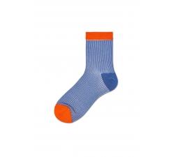 Dámske modré ponožky Happy Socks Rita // kolekcia Hysteria
