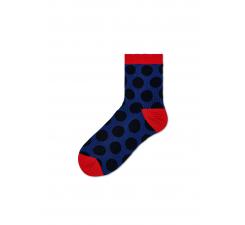 Dámske modré ponožky Happy Socks Viktoria // kolekcia Hysteria