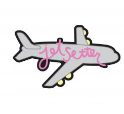Odznačik Jibbitz - Jetsetter Plane