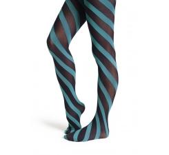 Modré punčocháče Happy Socks s pruhy