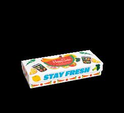 Darčekový box ponožiek Happy Socks Healthy Lifestyle - 4 páry