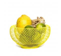 Žltá misa na ovocie Fundamental Berlin Nest