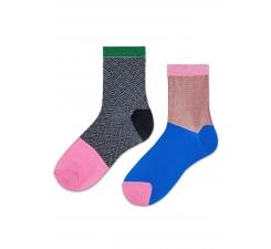 Darčeková krabička Happy Socks Kajsa, dva páry // kolekcia Hysteria