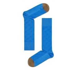 Modré ponožky Happy Socks se vzorem Structure Zebra // kolekce Dressed