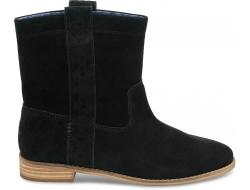 Čierne dámske vysoké topánky TOMS Laurel Boot