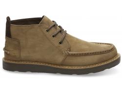 Pánske hnedé členkové topánky TOMS Chukka