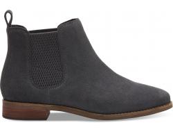Dámske sivé členkové topánky TOMS Ella