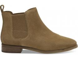 Dámske hnedé členkové topánky TOMS Ella