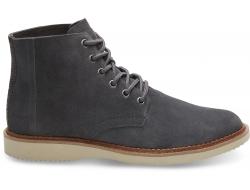 Pánske sivé kotníkové boty TOMS Porter