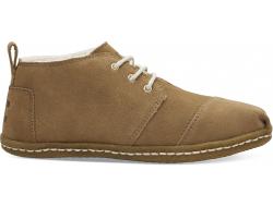 Dámske hnedé členkové topánky TOMS Bota Venice Collection