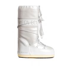 Dámske biele snehule Moon Boot Vinil Met