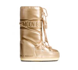 Dámske zlaté snehule Moon Boot Vinil Met
