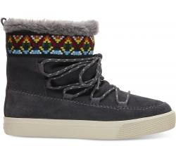 Dámske sivé členkové topánky TOMS Alpine