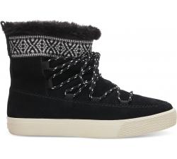 Dámske čierne členkové topánky TOMS Alpine