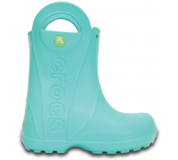 Handle It Rain Boot Kids Pool Blue C6
