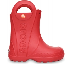 Handle It Rain Boot Kids Red C6