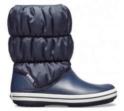 Winter Puff Boot Women - Navy/White W10