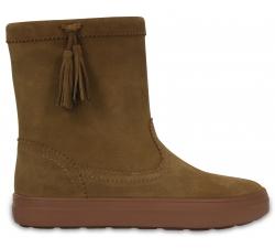 LodgePoint Suede Pullon Boot W - Hazelnut W7