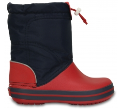 Crocband LodgePoint Boot K - Navy/Red C8
