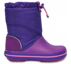 Crocband LodgePoint Boot K Amethyst/Ultraviolet