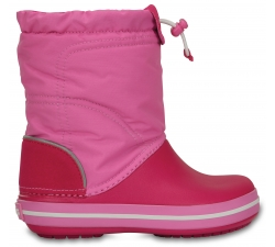 Crocband LodgePoint Boot K - Candy Pink/Party Pink C8