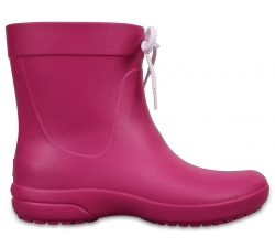 Crocs Freesail Shorty RainBoot - Berry W6
