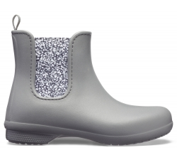 Crocs Freesail Chelsea Boot W - Slate Grey/Dots W10