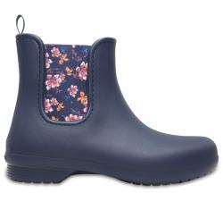 Crocs Freesail Chelsea Boot W Nvy/Flr W6