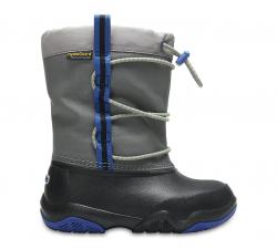 Swiftwater Waterproof Boot K Black/Blue Jean