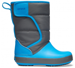 LodgePoint Snow Boot K Slate Grey/Ocean C10