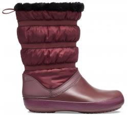 Crocband Winter Boot W Burgundy W10