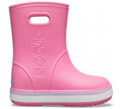 Crocband Rain Boot K Pink Lemonade/Lavender C10