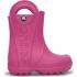 Handle It Rain Boot Kids Fuchsia