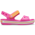 Crocband Sandal Kids Electric Pink/Cantaloupe