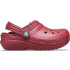 Classic Lined Clog K Brick Red