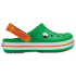 Crocband Clog K Grass Green/White/Blazing Orange