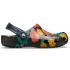 Classic Printed Floral Clog Floral/Black