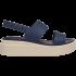Crocs Brooklyn Low Wedge W Navy/Stucco