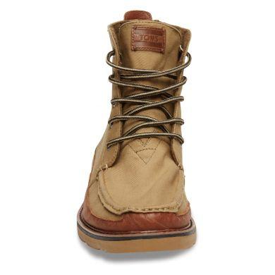 Hnědé pánské vysoké boty TOMS Searchers