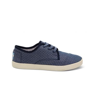 Chambray Polka Dot Women's Paseo Lace-up