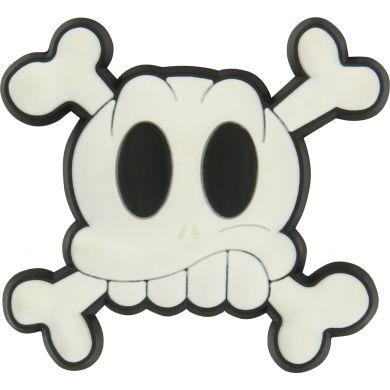 Odznačik Jibbitz - Skull & Cross Bones