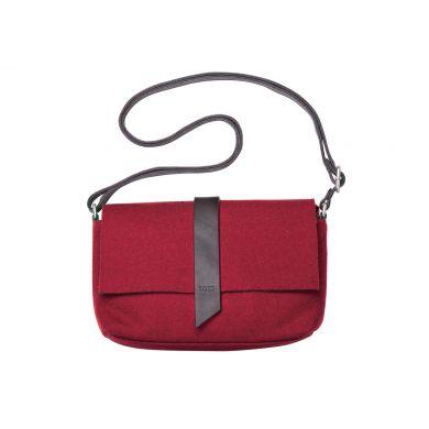 Červená plstěná kabelka TOMS