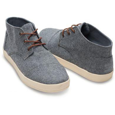 Šedé pánské kotníkové boty TOMS Paseo