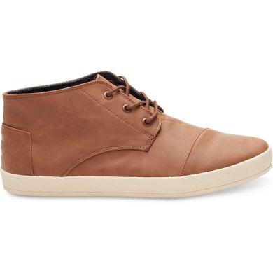 Hnědé pánské kotníkové boty TOMS Paseos