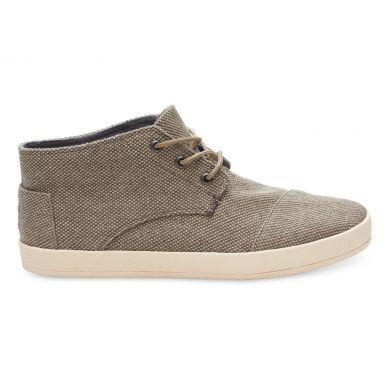 Béžové pánské kotníkové boty TOMS Paseo