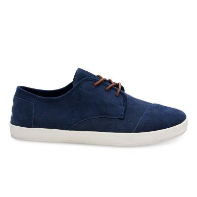 Modré pánské semišové tenisky TOMS Paseo