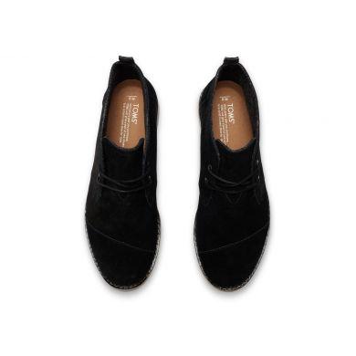 Černé pánské kotníkové boty TOMS Chukka